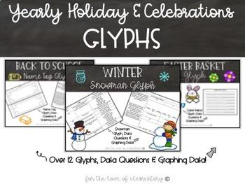Yearly Holiday & Celebrations Glyphs