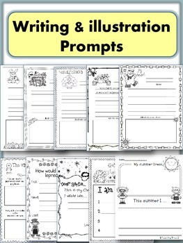 Yearly Journals- Kindergarten, First & Second Grade- 40 pages to choose
