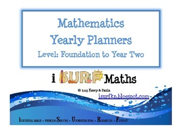 Yearly Mathematics Planners - Foundation to Year Two