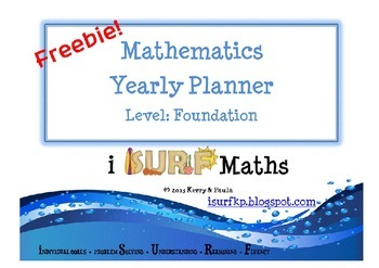 Yearly Maths Planner - Foundation Freebie!