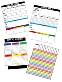 Teacher Planner: Monthly and Weekly Organization