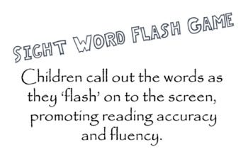 PowerPoint of Common Sight Words