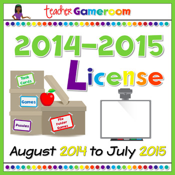 Yearly Powerpoint Game License 2014-2015