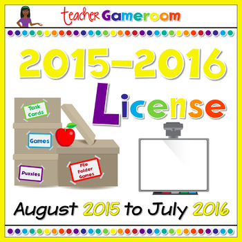 Yearly Powerpoint Game License 2015-2016