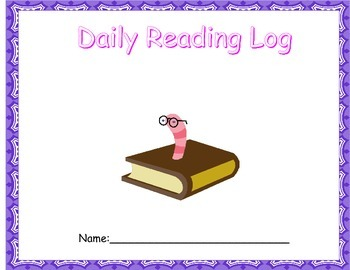 Yearly Reading Log Set