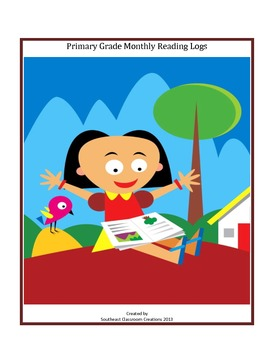 Yearly Reading Log for Primary Students