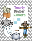 Yearly Subject Binder Covers -