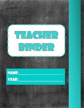 Yearly Teacher Binder