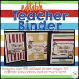 Teacher Binder - School Days Theme - Teacher Survival Guide