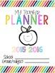 Yearly Teacher Planner