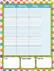 Yearly Unit and Theme Planner