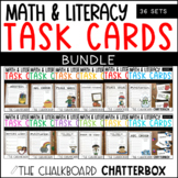 Yearly Write the Room Task Card BUNDLE