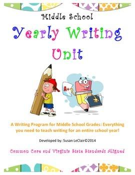 Yearly Writing Program