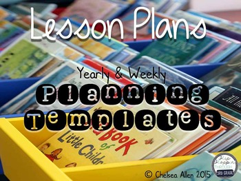 Yearly and Weekly Planning Templates