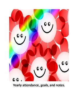 Counselor attendance, notes, and goals.