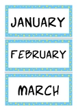 Yearly overview
