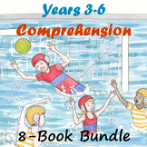Years 3-6 Reading Comprehension 8-Book Bundle