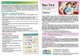 Years 3 to 6 language, literacy & motor milestones