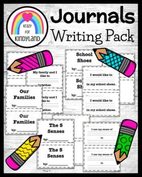 FREEBIE: Year's Worth of Class Books! 36 Journal Writing Books for Class Library
