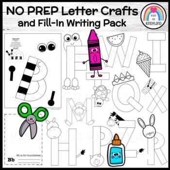 Year's Worth of Letter Crafts, Interactive Notebook