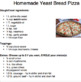 Yeast Bread Easy Recipes
