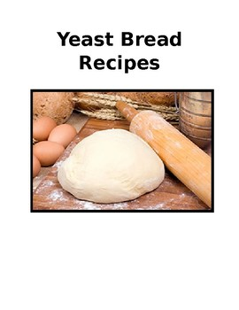 Yeast Bread Recipe Packet