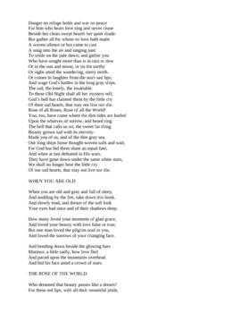 Yeats - Love Poetry