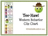 Yee-Haw! Western Behavior Clip Chart