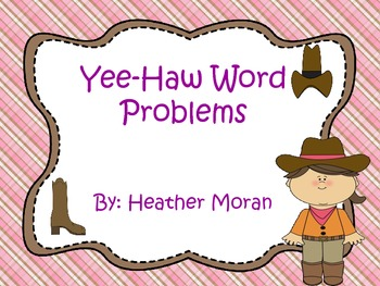 Yee-Haw Word Problems