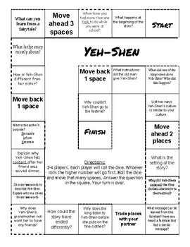Yeh-shen Teaching Resources   Teachers Pay Teachers