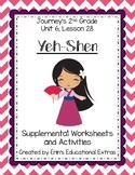Yeh-Shen, Journey's 2nd Grade, Unit 6 Lesson 28