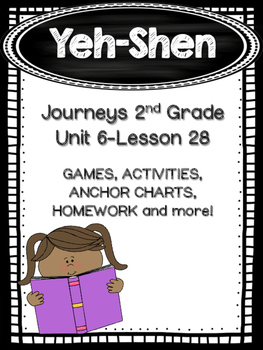 Yeh-Shen Journeys 2nd Grade (Unit 6 Lesson 28)