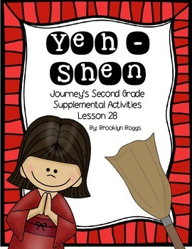 Yeh-Shen Journey's Activities - Second Grade Lesson 28