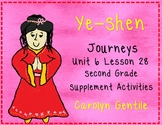 Yeh-Shen Journeys Unit 6 Lesson 28 2nd Grade 2014 Version Supp. Act.