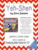 Yeh-Shen Supplemental Activities 2nd Grade Journeys Unit 6, Lesson 28