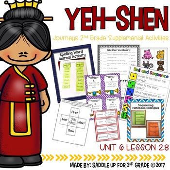 Yeh Shen Supplemental Activities