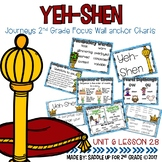 Yeh Shen Wall Anchor Charts and Word Wall Cards