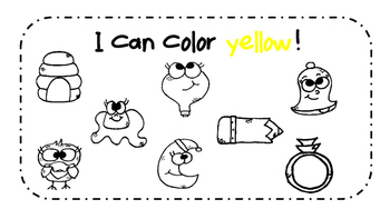 Yellow Activity Book!