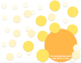 Yellow BOOMdot Poster Template