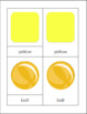 Yellow Ball Vocabulary Pack