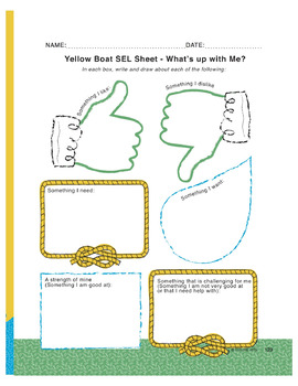 Yellow Boat (long oa/ow words) - use for SEL and Close Reading as well