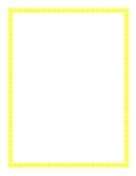 Yellow Border Clipart