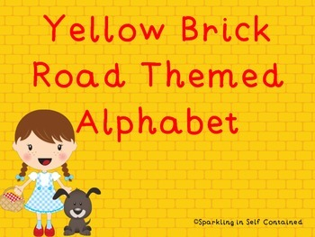 Yellow Brick Road: Alphabet/Word Wall