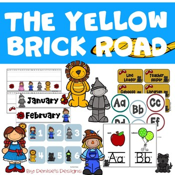 Yellow Brick Road Classroom Decor