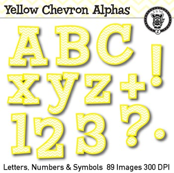 Yellow Chevron Alpha Clip Art - 89 images