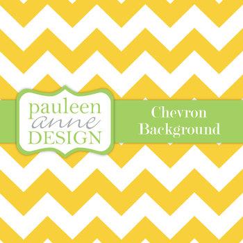 Yellow Chevron Background