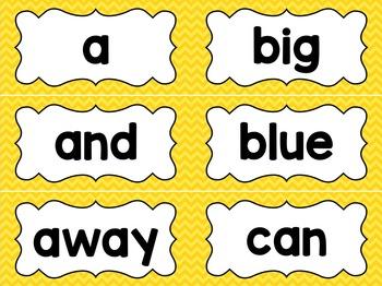 Yellow Chevron Classroom Decor Bundle