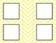 Yellow Chevron Classroom Labels and Tags