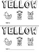 Yellow (Color) Emergent Reader and Teacher Book