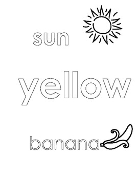 Yellow Color Sheet
